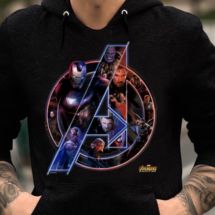 e7a6c39b6f29 Official Marvel Avengers Infinity War Neon Team Graphic Iron Man Captian  Thor shirt 2 1 510x510