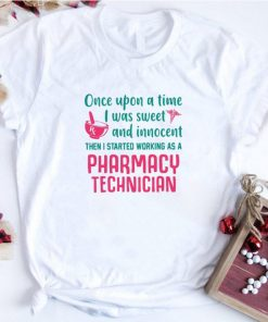 Official Once upon a time i was sweet and innocent pharmacy technician shirt 1 1 247x296 - Official Once upon a time i was sweet and innocent pharmacy technician shirt