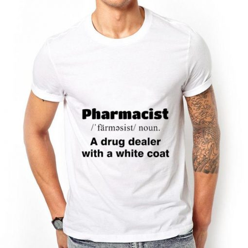 Official Pharmacist a drug dealer with a white coat shirt 2 1 510x510 - Official Pharmacist a drug dealer with a white coat shirt