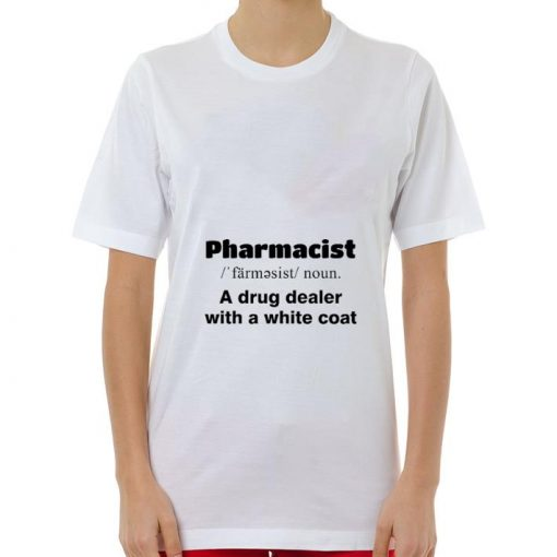 Official Pharmacist a drug dealer with a white coat shirt 3 1 510x510 - Official Pharmacist a drug dealer with a white coat shirt