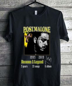 Official Post Malone 1995 2019 Become a legend signature shirt 1 1 247x296 - Official Post Malone 1995-2019 Become a legend signature shirt