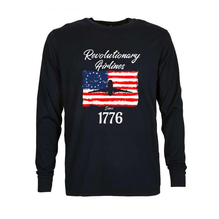 Official Revolutionary Airlines since 1776 Betsy Ross Flag shirt