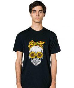 Official Skull Bandana Headband Sunflower Bow shirt 2 1 247x296 - Official Skull Bandana Headband Sunflower Bow shirt