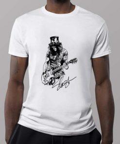 Official Slash Guns N Roses signature shirt 2 1 247x296 - Official Slash Guns N' Roses signature shirt