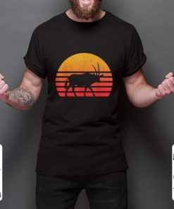 Official Vintage Retro Sunset Oryx Long Horn Hunting shirt 2 1 247x296 - Official Vintage Retro Sunset Oryx Long Horn Hunting shirt