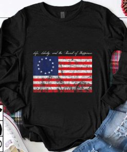 Official trend Life Liberty and the Pursuit of Happiness Betsy Ross Flag shirt 1 1 247x296 - Official trend Life, Liberty, and the Pursuit of Happiness Betsy Ross Flag shirt