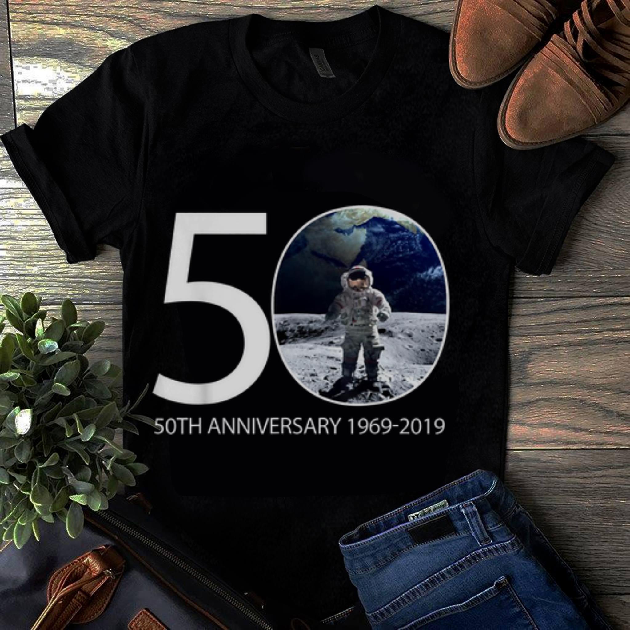 Officical Moon Landing 50th Anniversary Nasa Astronaut 1969-2019 shirt