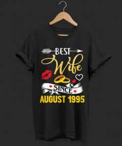 Original 24th Wedding Anniversary Best Wife Since 1995 shirt 1 1 247x296 - Original 24th Wedding Anniversary Best Wife Since 1995 shirt