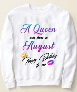 Original A Queen Was Born In August Happy Birthday To Me shirt 2 1 247x296 - Original A Queen Was Born In August Happy Birthday To Me shirt