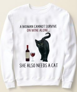 Original A Woman Cannot Survive On Wine Alone She Also Need A Cat shirt 2 1 247x296 - Original A Woman Cannot Survive On Wine Alone She Also Need A Cat shirt