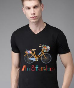 Original Amsterdam Bike Bicycle City Retro Cycling Tee shirt 2 1 247x296 - Original Amsterdam Bike Bicycle City Retro Cycling Tee shirt