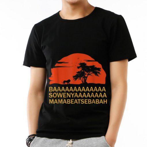 Original Baaaaaa Sowenyaaaa African King Lion Disney shirt 3 1 510x510 - Original Baaaaaa Sowenyaaaa African King Lion Disney shirt