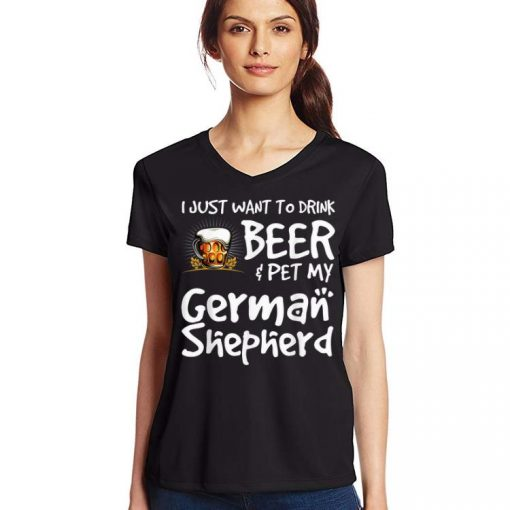 Original Beer And German Shepard For Dad Mom shirt 3 1 510x510 - Original Beer And German Shepard For Dad Mom shirt
