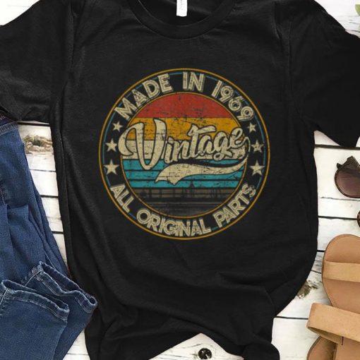 Original Classic 50th Birthday Vintage 1969 shirt 1 1 510x510 - Original Classic 50th Birthday Vintage 1969 shirt