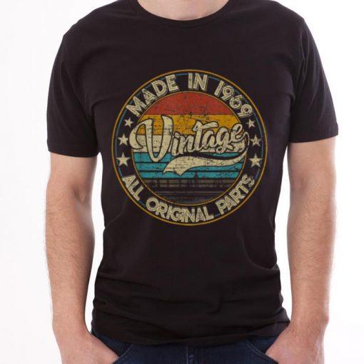 Original Classic 50th Birthday Vintage 1969 shirt 3 1 510x510 - Original Classic 50th Birthday Vintage 1969 shirt