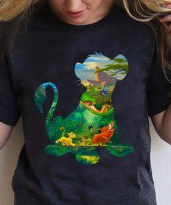 Original Disney Lion King Simba Silhouette Simba Timon And Pumbaa shirt 1 1 247x296 - Original Disney Lion King Simba Silhouette Simba Timon And Pumbaa shirt