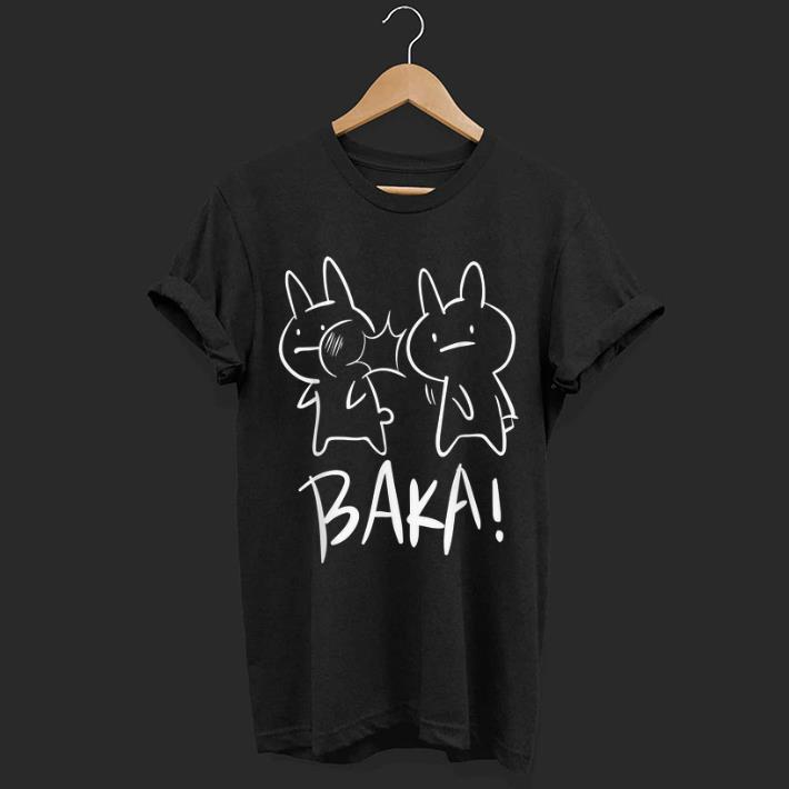 Original Lustiges Japan Baka Rabbit Ohrfeigen Anime And Manga shirt