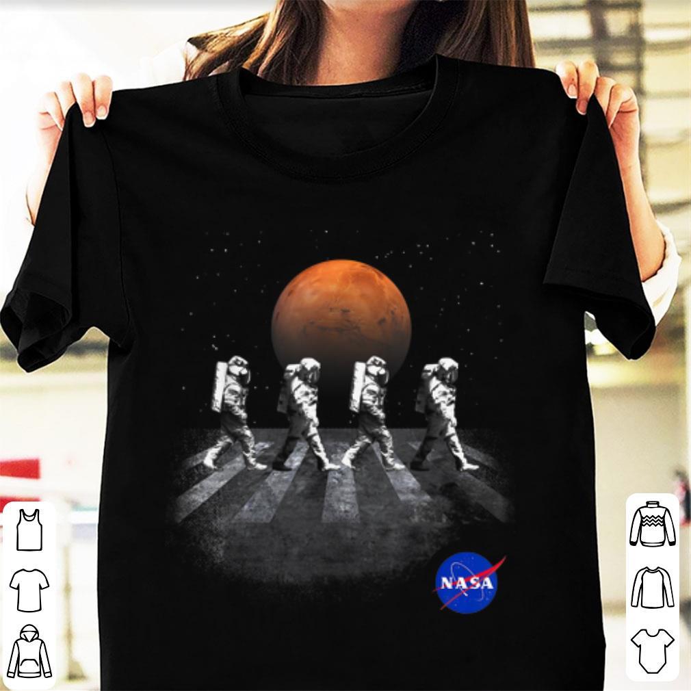 Original NASA Walking Astronauts In Space Mars shirt