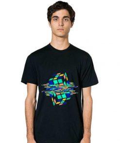 Original Neon Melting Rubik Cube Global Warming shirt 2 1 247x296 - Original Neon Melting Rubik Cube Global Warming shirt
