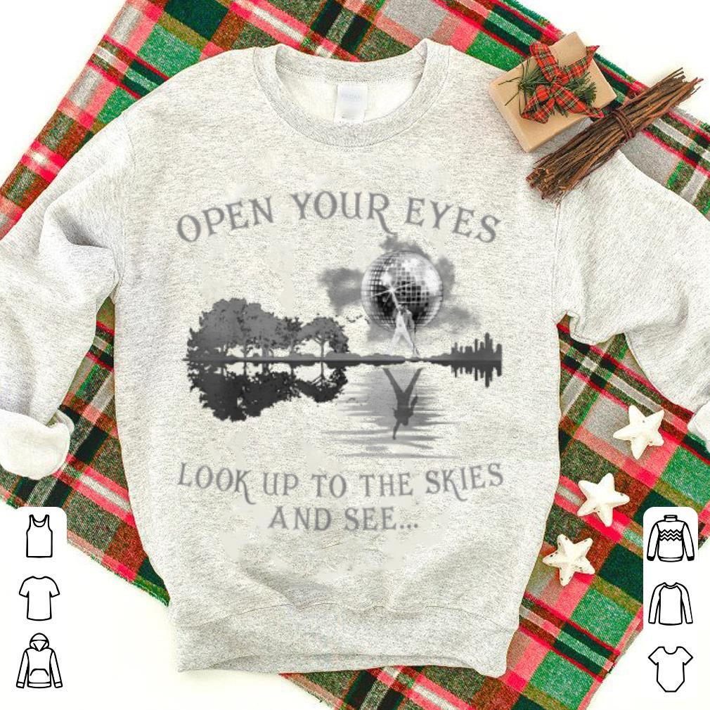 Original Open Your Eyes Look Up To The Skies And See.. Freddie shirt