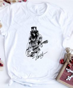 Original Slash Guns N Roses signature shirt 1 1 247x296 - Original Slash Guns N' Roses signature shirt