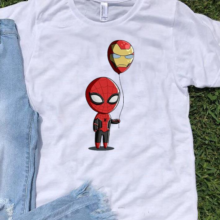 Original Spidey Balloon Spider Man And Iron Balloon Man shirt