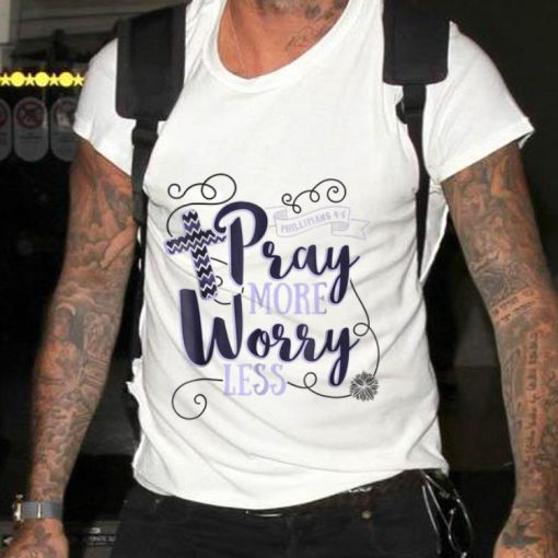 Pray More Worry Less Christian Inspirational sweater 2 1 510x510 - Pray More Worry Less Christian Inspirational sweater
