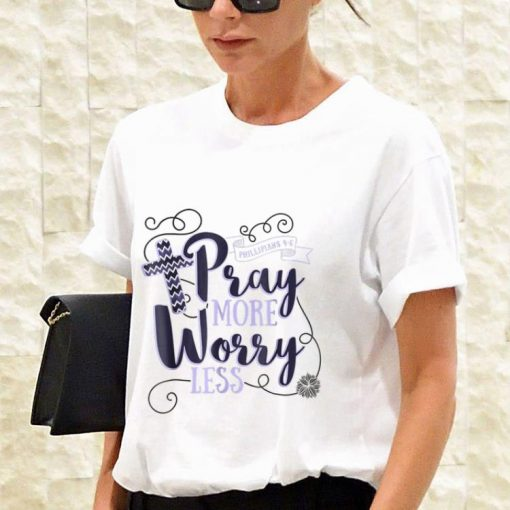 Pray More Worry Less Christian Inspirational sweater 3 1 510x510 - Pray More Worry Less Christian Inspirational sweater