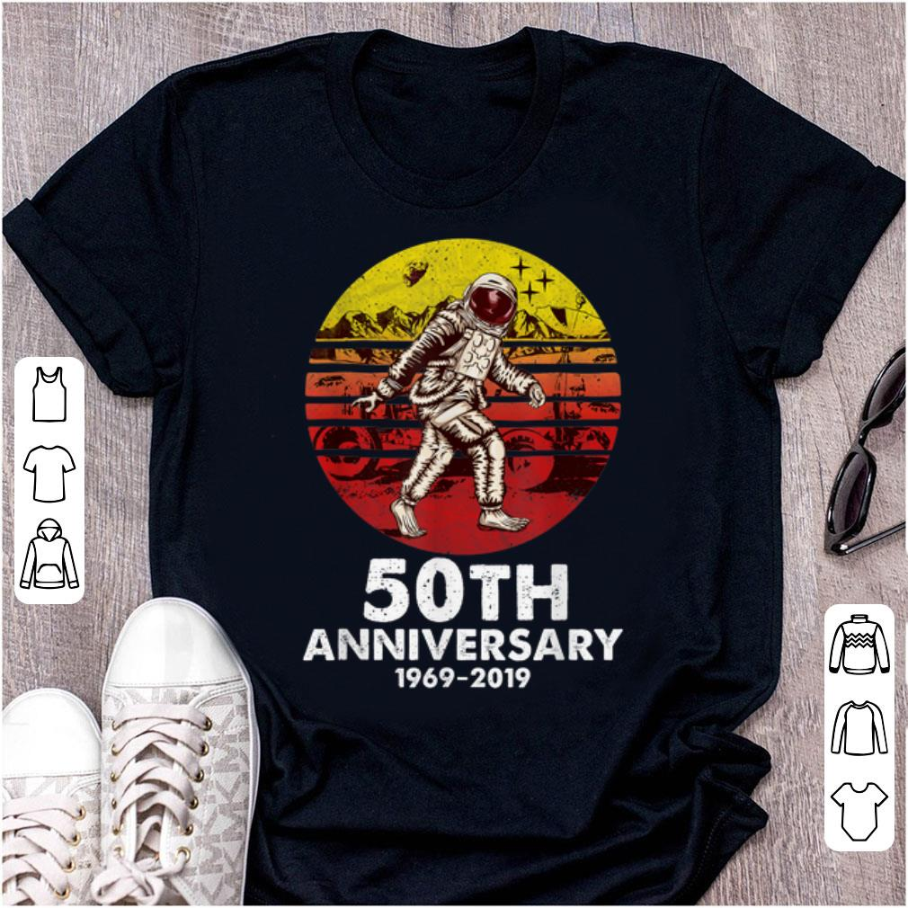 Premium 50th Anniversary 1969 Vintage Retro Bigfoot Astronaut shirt