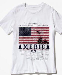Premium America Established July 4th 1776 Signature shirt 2 1 247x296 - Premium America Established July 4th 1776 Signature shirt