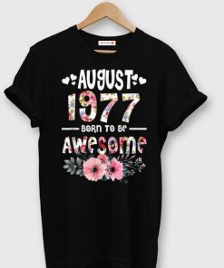 Premium August 1977 Awesome 42Nd Birthday Flower Girl shirt 1 1 247x296 - Premium August 1977 Awesome 42Nd Birthday Flower Girl shirt