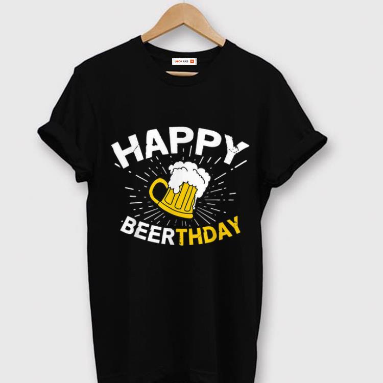 Premium Beer Lover Happy Beerthday shirt
