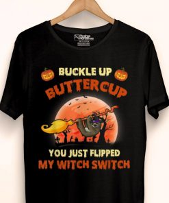 Premium Buckle Up Buttercup You Just Flipped Witch Switch Sloth Halloween shirt 1 1 247x296 - Premium Buckle Up Buttercup You Just Flipped Witch Switch Sloth Halloween shirt