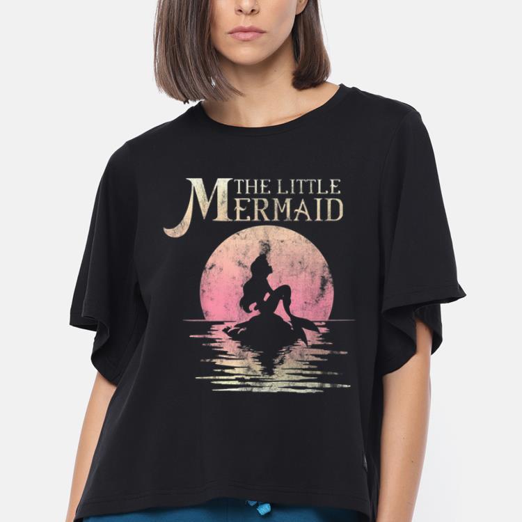 Premium Disney The Little Mermaid Ariel Rock Moon Silhouette