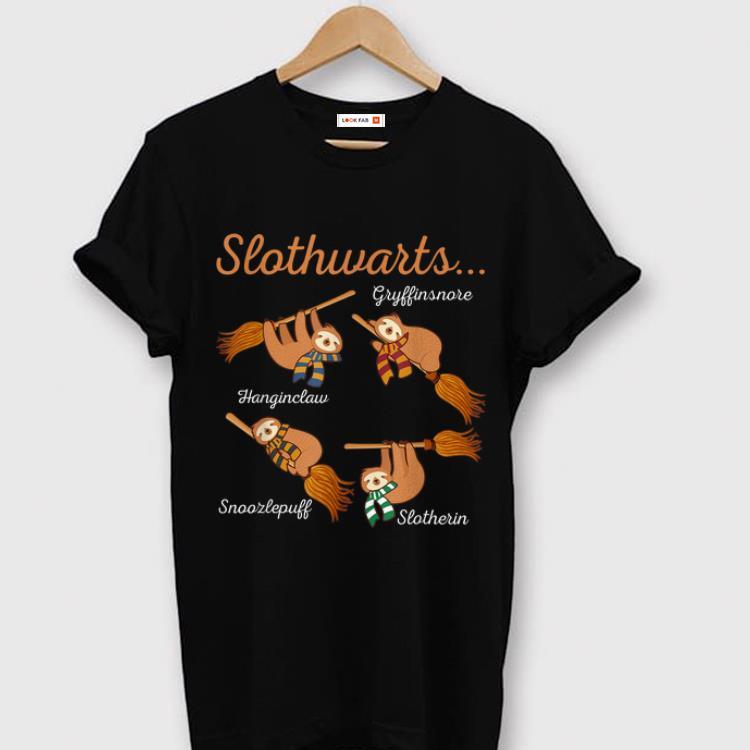 Premium Harry Slothwarts - Gryfinsnore Hanginclaw Snoozlepuff Slotherin - Sloth shirt