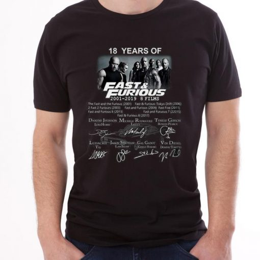 Premium Jamila 18 Years Of Fast And Furious 2001 2019 9 Films Signature shirt 3 1 510x510 - Premium Jamila 18 Years Of Fast And Furious 2001 2019 9 Films Signature shirt