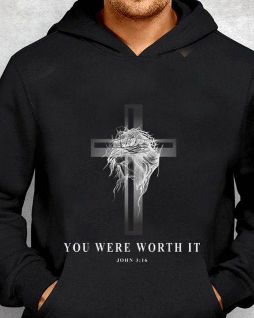 Premium Jseus Cross Easter Christian You Were Worth It shirt 2 1 510x638 - Premium Jseus Cross Easter Christian You Were Worth It shirt