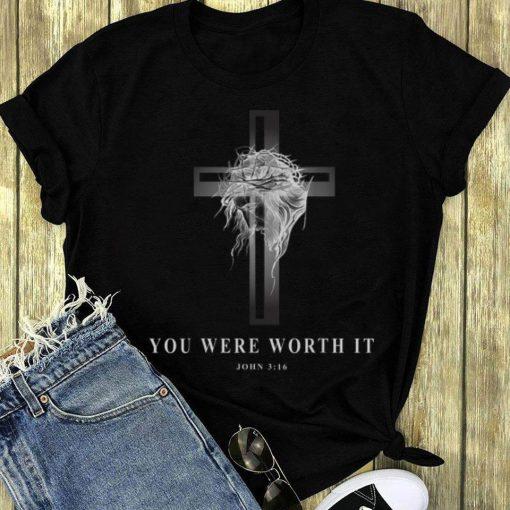 Premium Jseus Cross Easter Christian You Were Worth It shirt 3 1 510x510 - Premium Jseus Cross Easter Christian You Were Worth It shirt