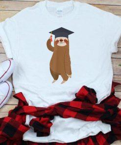 Premium Sloth Graduation Smiling Sloth Graduate Gift shirt 1 1 247x296 - Premium Sloth Graduation Smiling Sloth Graduate Gift shirt