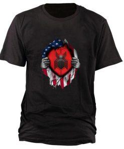 Premium Spider Man Far From Home American flag shirt 1 1 247x296 - Premium Spider Man Far From Home American flag shirt