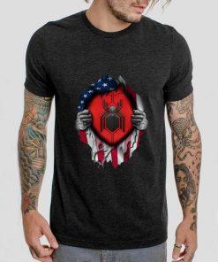 Premium Spider Man Far From Home American flag shirt 2 1 247x296 - Premium Spider Man Far From Home American flag shirt