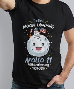 Premium The First Moon landing Apollo 11 Cartoon Astronaut American Flag shirt 1 1 247x296 - Premium The First Moon landing Apollo 11 Cartoon Astronaut American Flag shirt