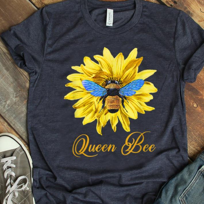 Pretty Bee Wtih Flower Queen Bee shirt