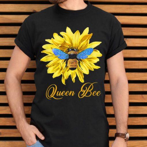 Pretty Bee Wtih Flower Queen Bee shirt 2 1 510x510 - Pretty Bee Wtih Flower Queen Bee shirt