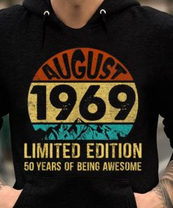 Pretty Born In August 1969 Limited Edition 50th Birthday shirt 2 1 247x296 - Pretty Born In August 1969 Limited Edition 50th Birthday shirt