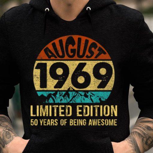 Pretty Born In August 1969 Limited Edition 50th Birthday shirt 2 1 510x510 - Pretty Born In August 1969 Limited Edition 50th Birthday shirt