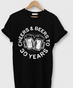 Pretty Cheers And Beers To 30 Years 30th Birthday shirt 1 1 247x296 - Pretty Cheers And Beers To 30 Years 30th Birthday shirt