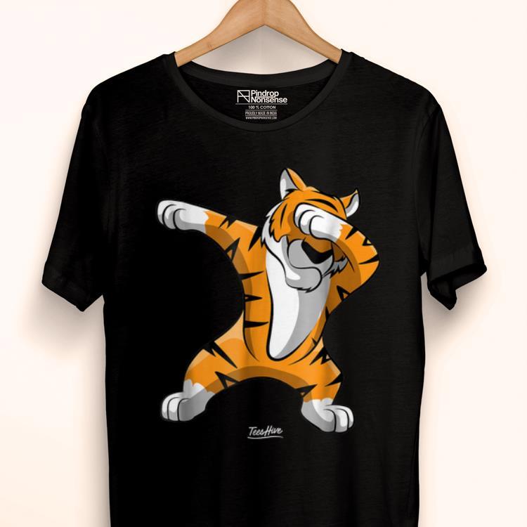 Pretty Dabbing Tiger Dab Tiger Safari Tiger Animal shirt