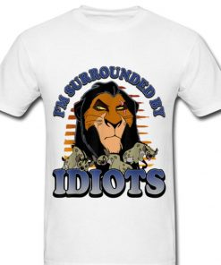 Pretty Disney Lion King Scar Im Surrounded By Idiots Portrait shirt 2 1 247x296 - Pretty Disney Lion King Scar Im Surrounded By Idiots Portrait shirt