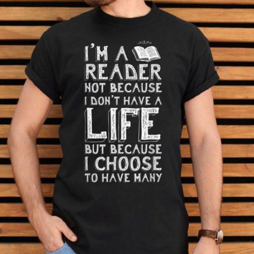 Pretty I Am A Reader Book Quote Bookworm Reading Literary shirt 2 1 510x510 - Pretty I Am A Reader Book Quote Bookworm Reading Literary shirt